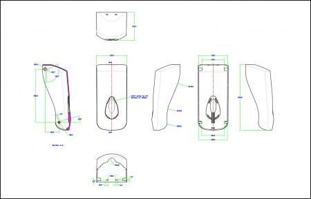 Soap dispenser designer lines